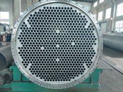 制作中的70吨降膜蒸发器